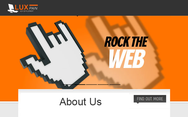 LUX-PAIN rocks the web world!
